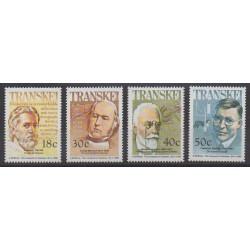 Afrique du Sud - Transkei - 1990 - No 250/253 - Santé ou Croix-Rouge