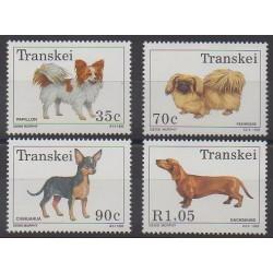 Afrique du Sud - Transkei - 1993 - No 299/302 - Chiens