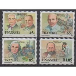 Afrique du Sud - Transkei - 1993 - No 307/310 - Santé ou Croix-Rouge