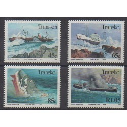 Afrique du Sud - Transkei - 1994 - No 315/318 - Navigation