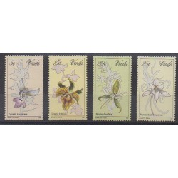 Afrique du Sud - Venda - 1981 - No 46/49 - Orchidées