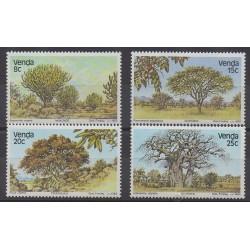 Afrique du Sud - Venda - 1982 - No 62/65 - Arbres
