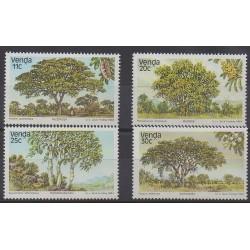 Afrique du Sud - Venda - 1984 - No 95/98 - Arbres