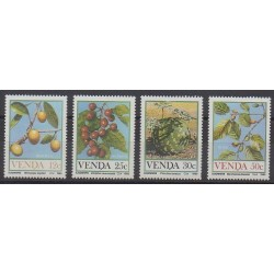 South Africa - Venda - 1985 - Nb 112/115 - Fruits or vegetables