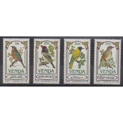Afrique du Sud - Venda - 1985 - No 103/106 - Oiseaux