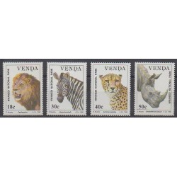 South Africa - Venda - 1990 - Nb 200/203 - Mamals