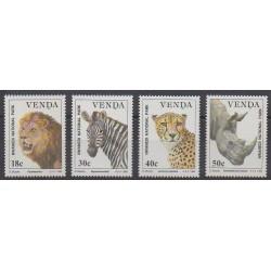 Afrique du Sud - Venda - 1990 - No 200/203 - Mammifères