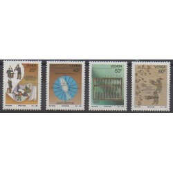South Africa - Venda - 1991 - Nb 221/224 - Science