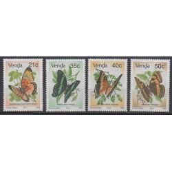 Afrique du Sud - Venda - 1990 - No 213/216 - Insectes
