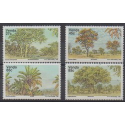 Afrique du Sud - Venda - 1991 - No 229/232 - Arbres