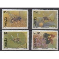 Afrique du Sud - Venda - 1992 - No 237/240 - Insectes