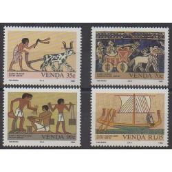 Afrique du Sud - Venda - 1992 - No 241/244 - Sciences et Techniques