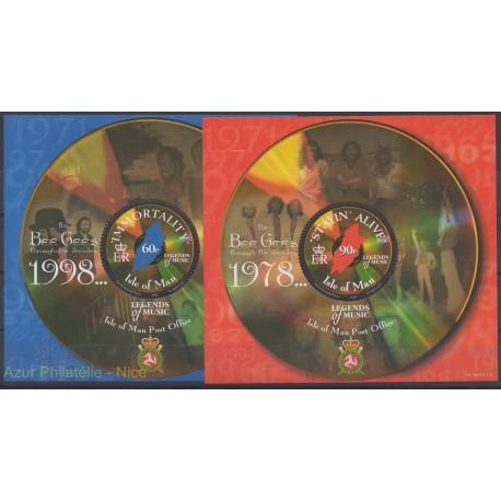 Man (Ile de) - 1999 - No BF 39/BF 40 - Musique