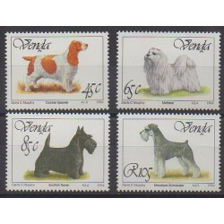 South Africa - Venda - 1994 - Nb 265/268 - Dogs