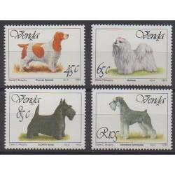 Afrique du Sud - Venda - 1994 - No 265/268 - Chiens