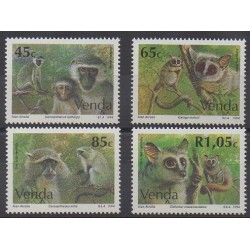 South Africa - Venda - 1994 - Nb 269/272 - Mamals