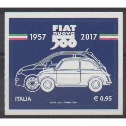 Italie - 2017 - No 3753 - Voitures