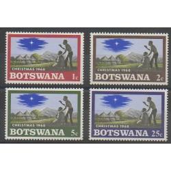 Botswana - 1968 - No 199/202 - Noël