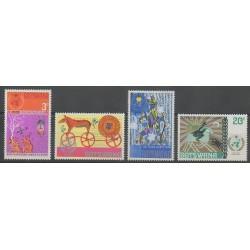 Botswana - 1973 - No 248/251