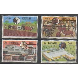 Botswana - 1981 - No 433/436 - Artisanat ou métiers