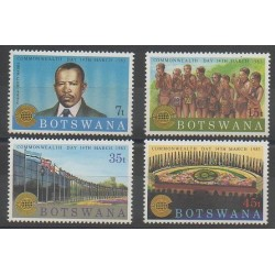 Botswana - 1983 - No 473/476 - Histoire