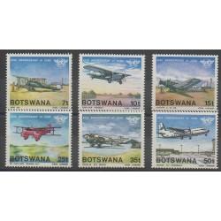 Botswana - 1984 - Nb 497/502 - Planes