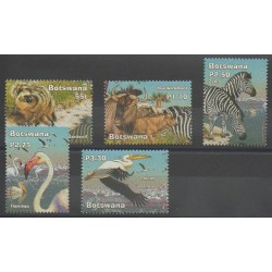 Botswana - 2002 - No 902/906 - Animaux