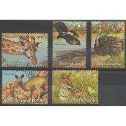 Botswana - 2003 - No 915/919 - Animaux