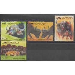Botswana - 2015 - No 1141/1144 - Mammifères