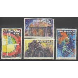 Botswana - 2015 - Nb 1137/1140 - Paintings