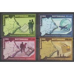 Botswana - 2014 - Nb 1125/1128 - Postal Service