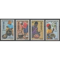 Botswana - 1985 - No 507/510 - Gastronomie