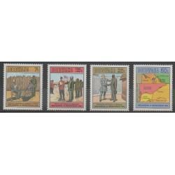 Botswana - 1985 - No 524/527 - Histoire