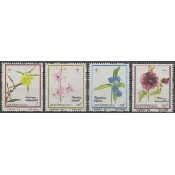 Botswana - 1986 - Nb 536/539 - Flowers