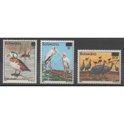 Botswana - 1987 - No 548/550 - Oiseaux