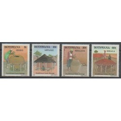Botswana - 1989 - No 599/602 - Artisanat ou métiers