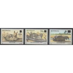 Botswana - 1990 - No 623/625 - Mammifères