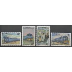 Botswana - 1992 - Nb 679/682 - Trains