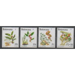 Botswana - 1998 - No 816/819 - Fruits ou légumes