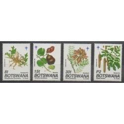 Botswana - 1991 - No 649/652 - Fruits ou légumes