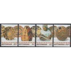 Botswana - 2001 - No 859/862 - Artisanat ou métiers