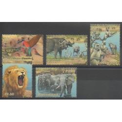 Botswana - 2001 - No 867/871 - Mammifères