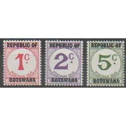 Botswana - 1967 - No T15/T17