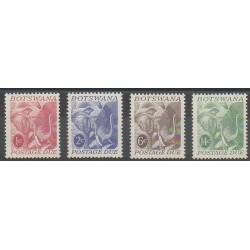 Botswana - 1971 - Nb T18/T21 - Mamals