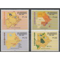Botswana - 2006 - No 961/964 - Histoire