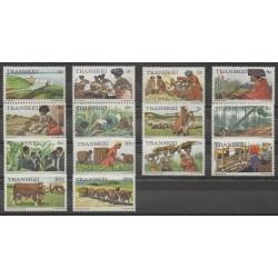 Afrique du Sud - Transkei - 1976 - No 1/14 - Artisanat ou métiers