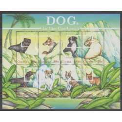 Guyana - 2001 - Nb 5355/5362 - Dogs