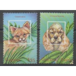 Guyana - 2001 - Nb 5353/5354 - Dogs