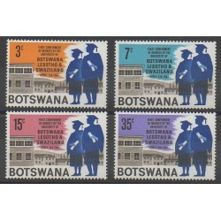 South Africa - Bophuthatswana - 1967 - Nb 185/188