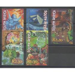 Afrique du Sud - 2001 - No 1128/1132 - Littérature